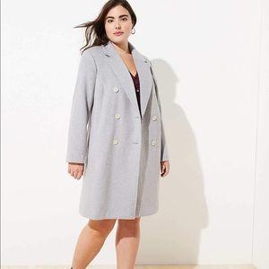 LOFT Plus Double Breasted Coat